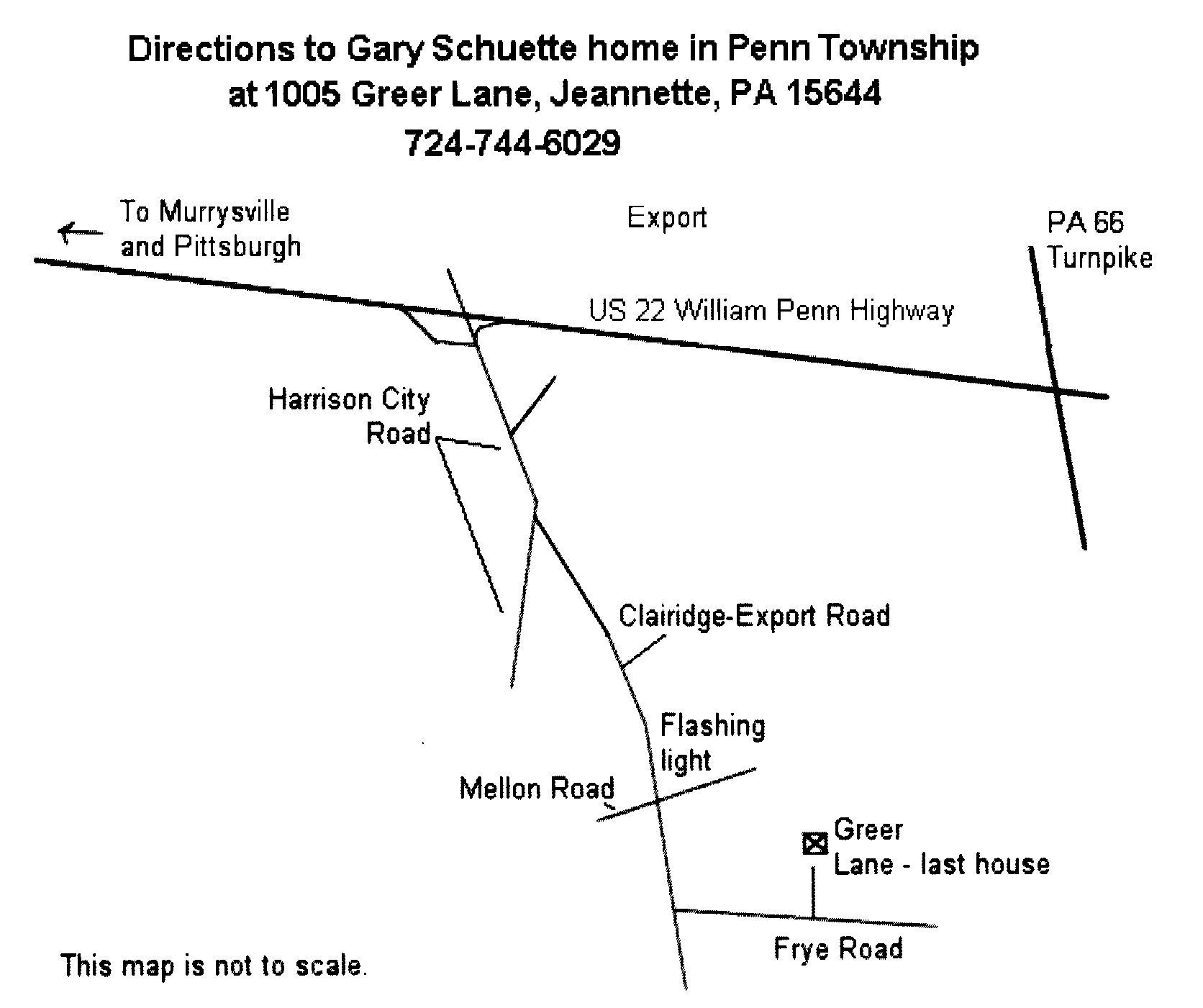 Schuette Route June 2018 meeting
